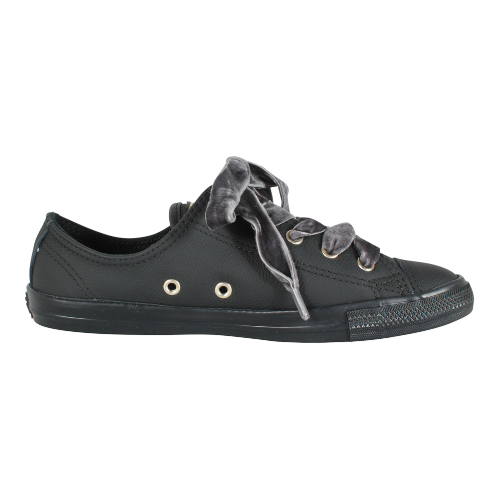 Converse Damen Sneaker All Star Dainty Ox 561692C schwarz Gold | Modefreund Shop