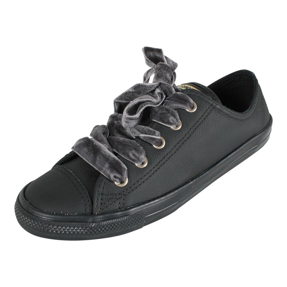 Converse Damen Sneaker All Star Dainty Ox 561692C schwarz Gold