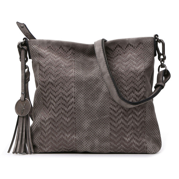 Suri Frey Damen Crossbody Bag Becky 11341 grau