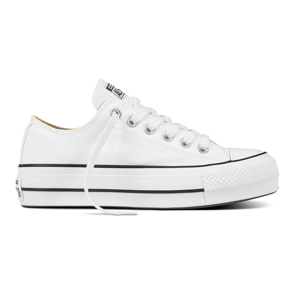 Converse Damen Sneaker Chuck Taylor All Star Lift Ox weiß