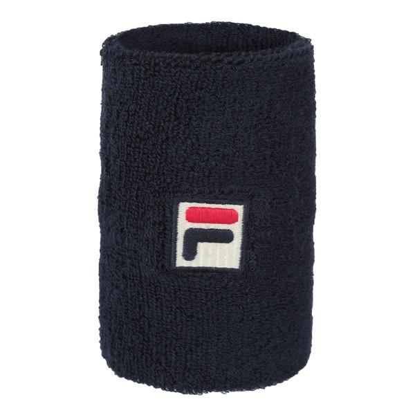 Fila Unisex Schweißband Arnst Long Wristband Sport Peacoat Blue (blau)