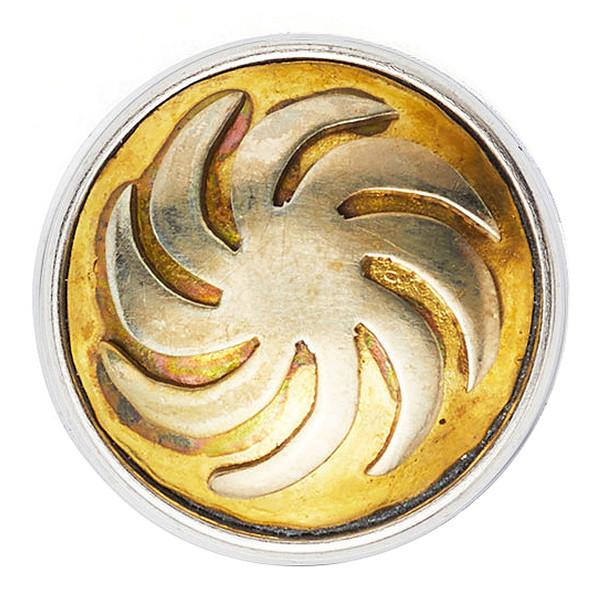 Noosa Chunk Arevakhach Schmuck Silver Copper White Metal (beige)