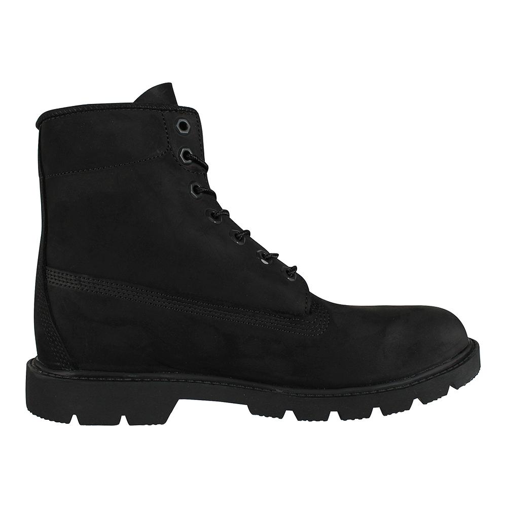 newest 9eec6 10f63 Timberland Herren Stiefel 6-Inch Waterproof Boot Black Nubuck (schwarz)