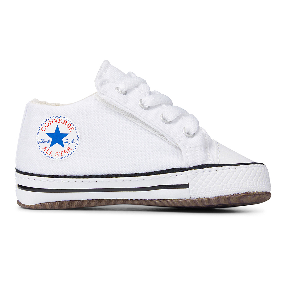 Details about Converse Baby Chuck Baby Shoes Cribster mid 865158C 0 12 Mon. Gift Box White