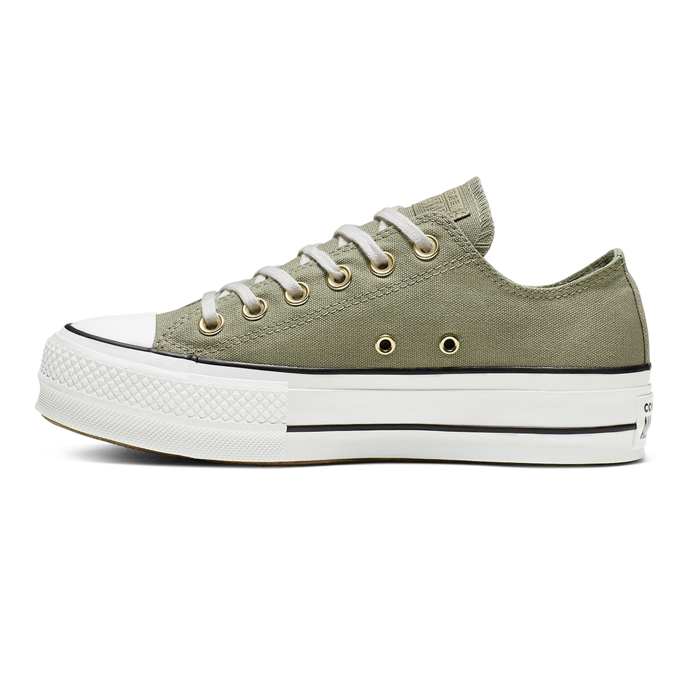 New Converse Chuck Taylor All Star Platform Low Jade Stone