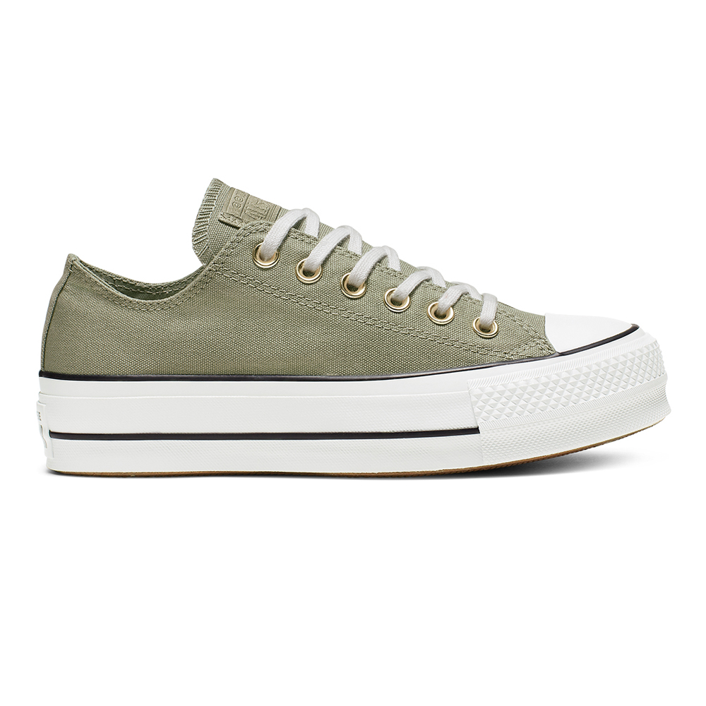 Converse Damen Sneaker Chuck Taylor All Star Platform Low Top Jade stone (grün) | Modefreund Shop