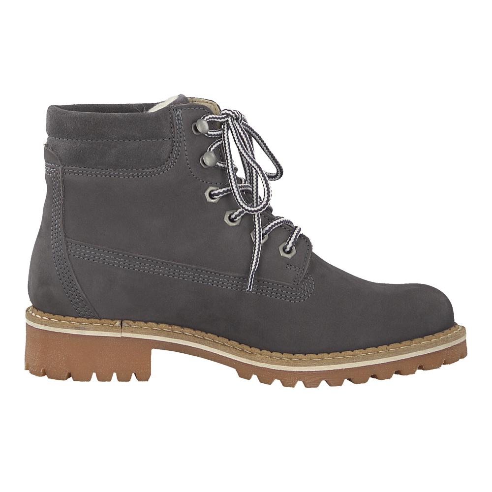 Tamaris Damen Winter Stiefel 26244 Boot Anthrazit (grau)
