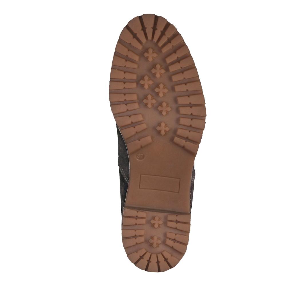 Details zu Tamaris Damen Stiefeletten Irina Chealsea Schuhe Leder Boots gefüttert Anthrazit