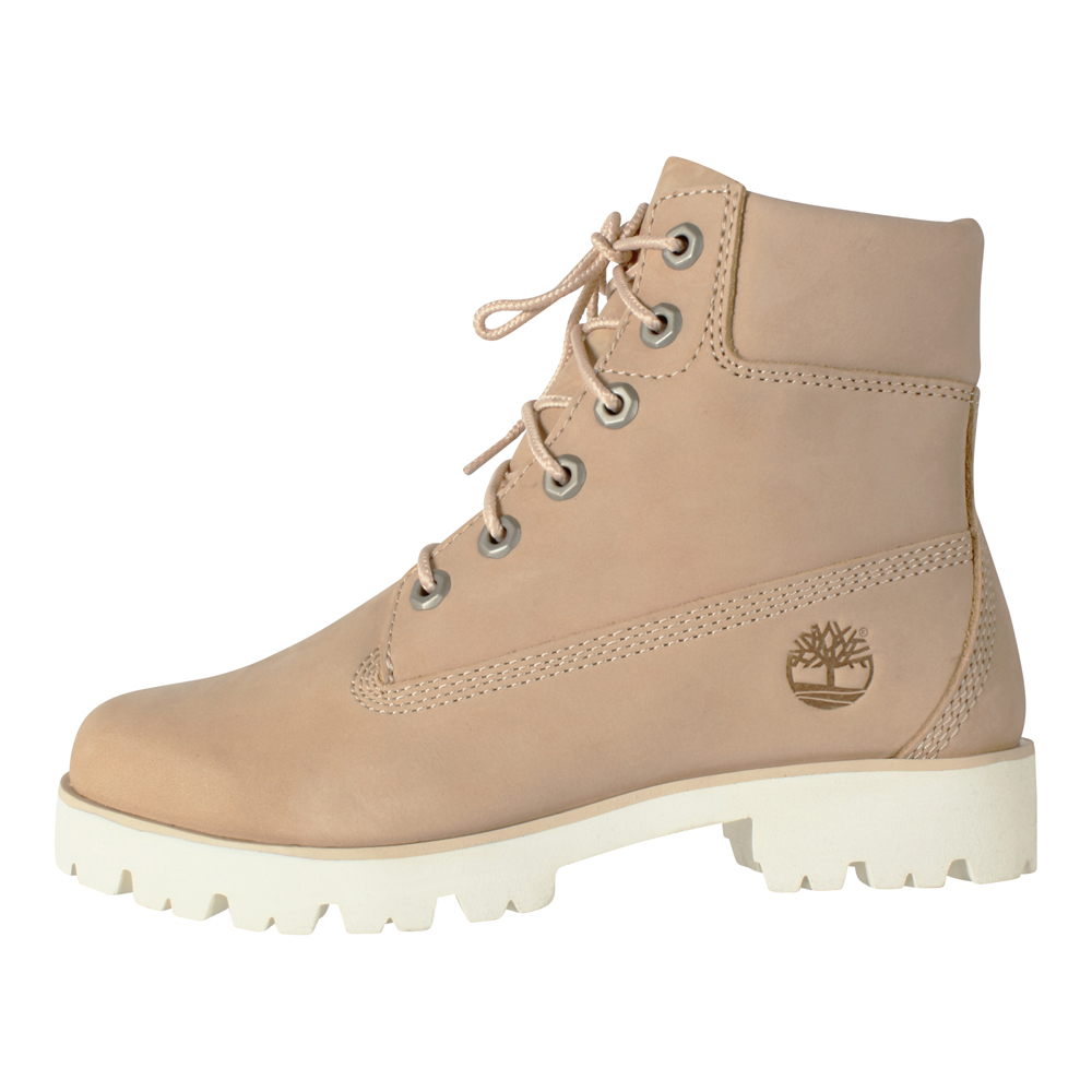 Timberland Damen Stiefel 6 Inch Heritage Lite Boots Apple Blossom (rosa)