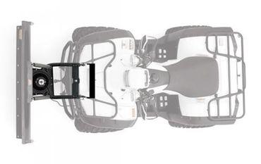 WARN ProVantage Schneeschild 152cm FRONT Yamaha BIG BEAR 400 4x4 – Bild 3