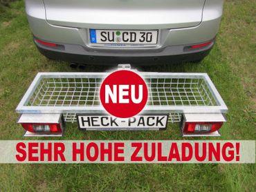 Hecktransporter Heckträger Premium absenkb., 1200x400x125 mm (feuerverz.)