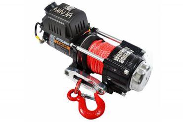 ATV/Quad Elektrische Seilwinde Warrior® NINJA 2500 A 1,1 t 12 V Kunststoffseil – Bild 2