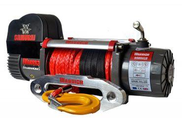 Elektrische Seilwinde Warrior® Samurai S9500 Short Drum 4,3 t 24 V Kunststoffseil – Bild 1