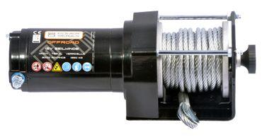 Powerseries® 12V Seilwinde 3000 ECO (1360kg) + Funkfernbedienung – Bild 3