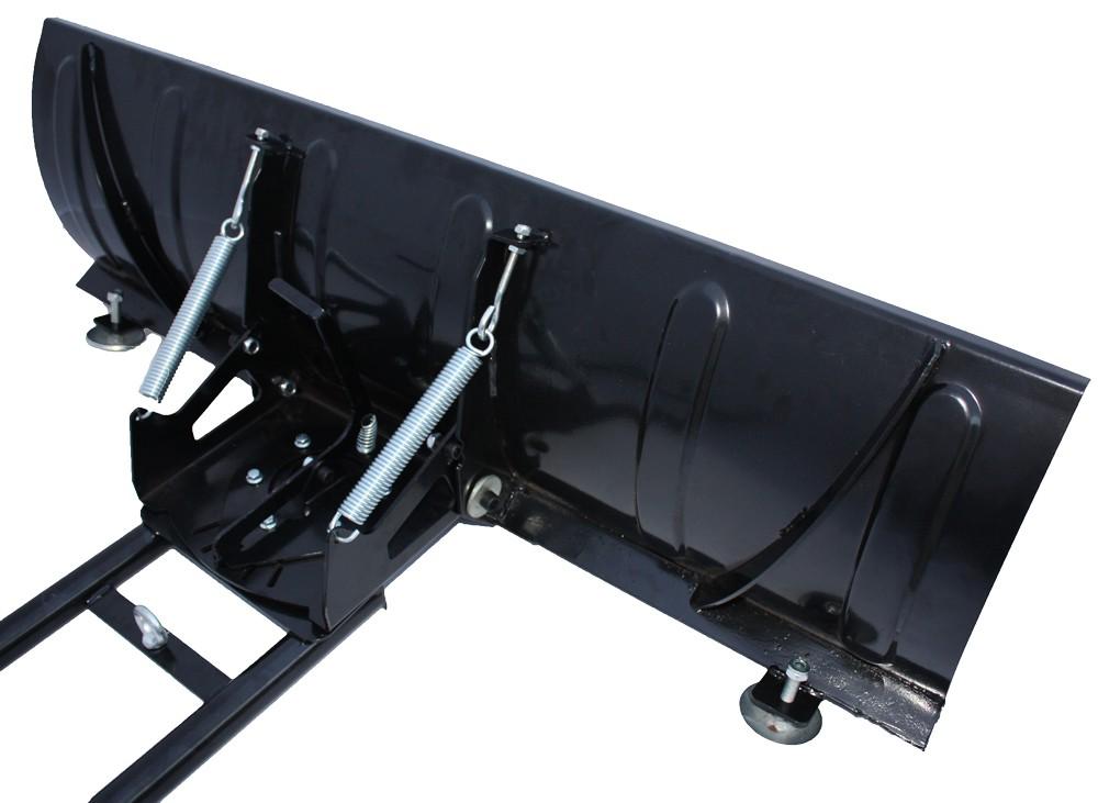 Schneeschild Breite 120cm SET Schneepflug QUAD ATV RASENTRAKTOR RÄUMSCHILD