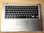 Original MacBook Air A1304 A1237 Backlight Tastatur QWERTZ Keyboard Topcase Trackpad