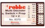 Multi-Switch-Prop 12+2 Decoder Memory Robbe Aviotiger 8370