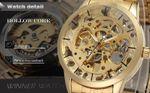 Winner Herren Armbanduhr Business Automatik Bild 4