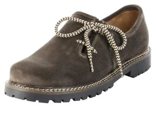 Bergheimer Trachtenschuhe Haferlschuhe dunkelbraun Herren Leder Schuhe Kufstein – Bild 1
