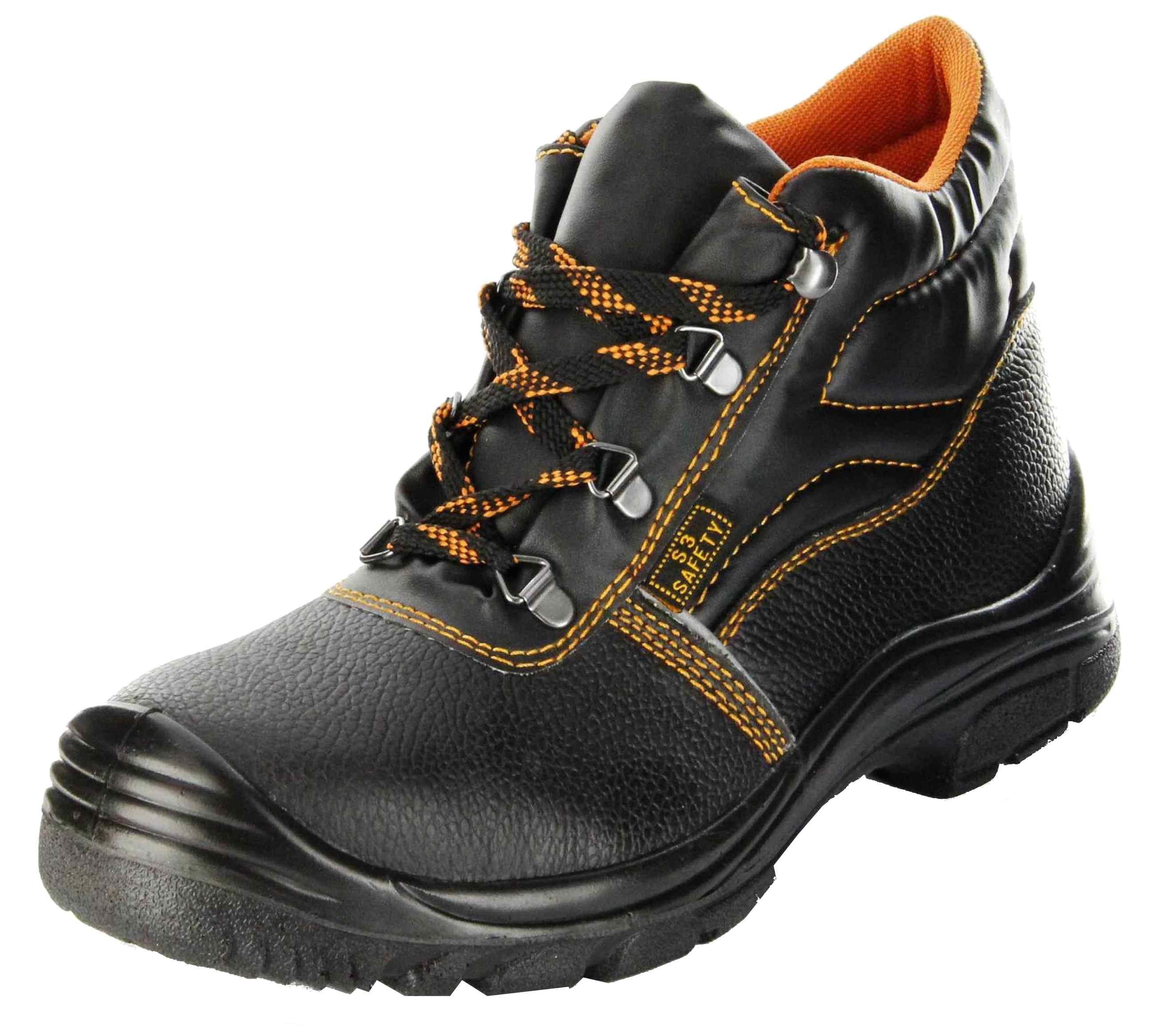 buy online 23e8e 55ef9 ConWay Sicherheitsschuh schwarz S3 SRC Stahlkappe Herren  Arbeits-Schutz-Schuhe Targa