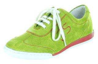 Josef Seibel Sneaker Lederdecksohle apple grün Damen Leder Velour-Schuhe Anja 04 – Bild 1