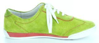 Josef Seibel Sneaker Lederdecksohle apple grün Damen Leder Velour-Schuhe Anja 04 – Bild 6