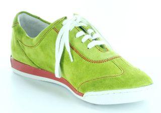 Josef Seibel Sneaker Lederdecksohle apple grün Damen Leder Velour-Schuhe Anja 04 – Bild 7