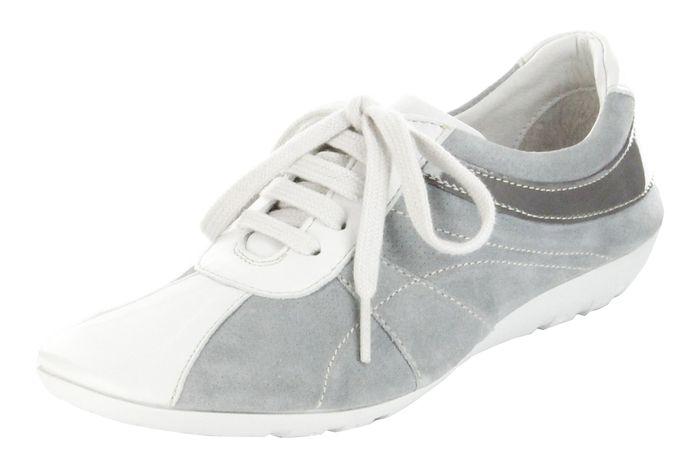 Josef Seibel Sneaker offwhitegrey Leder Teens Mädchen Schuhe Elisa 03