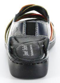 Josef Seibel Sandaletten multicolor Lederdeck Keil Leder Damen Schuhe Lisa 03 – Bild 4
