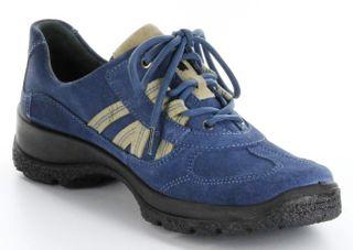Legero Sportschuhe denium blau Leder GORE-TEX Damen Outdoor Schuhe 7-03541-84 – Bild 7