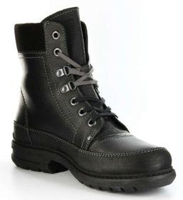 Marc Boots black Leder Stiefel GORE-TEX Gummisohle Herren Schuh Colt 1-206-09-07 – Bild 7