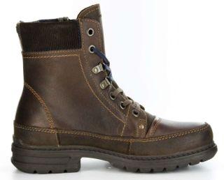 Marc Boots espresso Leder Stiefel GORE-TEX Gummis. Herren Schuh Colt 1-206-09-07 – Bild 6