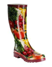 Conway Gummistiefel rot Regenstiefel Damen Stiefel Schuhe Gemüse – Bild 1