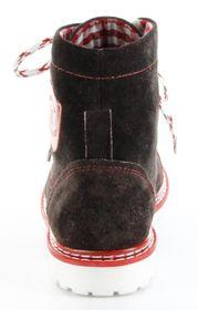 Bergheimer Trachtenschuhe Stiefel rot Leder Stiefelette Damen Schuhe Aflenz – Bild 5