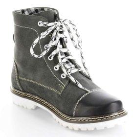 Bergheimer Trachtenschuhe Stiefel schwarz Leder Herren Damen Boots Schuhe Aflenz – Bild 9