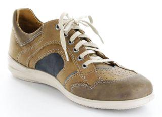 Jomos Halbschuhe Leder braun Sneaker Herren Sohle herausnehmbar 315203-12-2071 – Bild 8