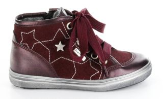 Richter Kinder Halbschuhe Sneaker rot Leder Warm Sympatex Mädchen 4445-421-7400 – Bild 2