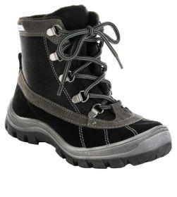 Richter Kinder Winter Stiefel schwarz Leder SympaTex Jungen-Schuhe 7421-421-9901 – Bild 1