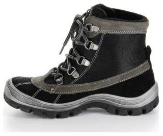 Richter Kinder Winter Stiefel schwarz Leder SympaTex Jungen-Schuhe 7421-421-9901 – Bild 7