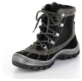 Richter Kinder Winter Stiefel schwarz Leder SympaTex Jungen-Schuhe 7421-421-9901 – Bild 8