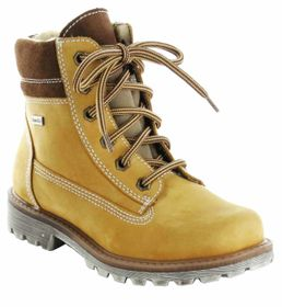 Richter Kinder Stiefel braun Nubuk Leder SympaTex Jungen-Schuhe 7623-422-5111 – Bild 1