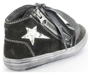 Richter Kinder Warmfutter Sneaker grau Blinkies Leder Mädchen Schuhe 4441-421-6501 – Bild 3