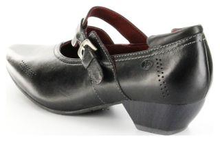 Josef Seibel Halbschuhe schwarz Glattleder Lederdecksohle Damen Schuhe Kylie 05 – Bild 3
