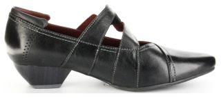 Josef Seibel Halbschuhe schwarz Glattleder Lederdecksohle Damen Schuhe Kylie 05 – Bild 7
