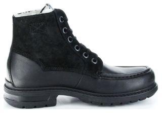 Marc Stiefel Boots schwarz GORE-TEX Leder Warm Herren Schuhe Colt 1.206.12-57 – Bild 7