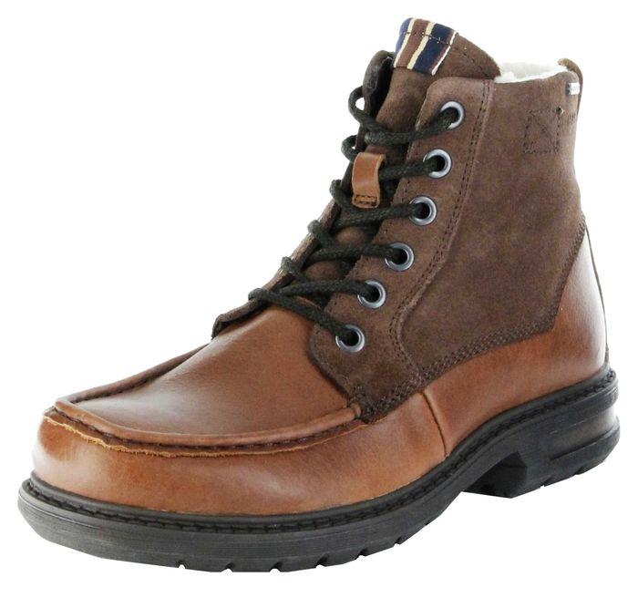 Marc Stiefel Boots braun GORE-TEX Leder Warm Herren Schuhe Colt 1.206.12-57