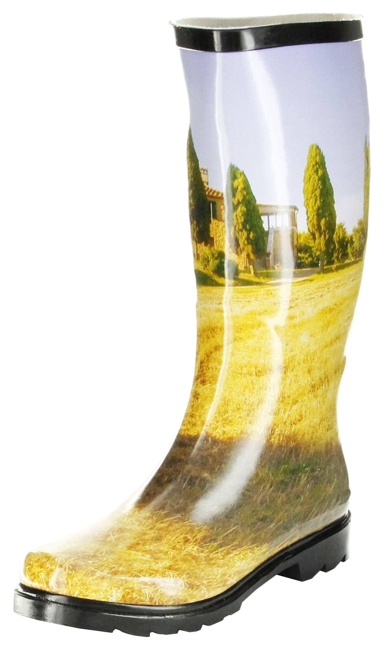 huge discount b4f01 2f7d5 Conway Gummistiefel gelb Regenstiefel Damen Stiefel Schuhe Toskana