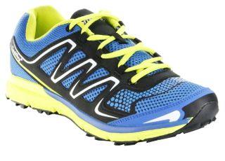 ConWay Sportschuhe Outdoor Trekking Schnürsenkel Herren Schuhe Torpedo blau – Bild 1