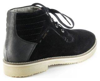 Marc Halbschuhe (Boots) schwarz Velourleder Herren Schuhe Connery 1-268-01-29 – Bild 3