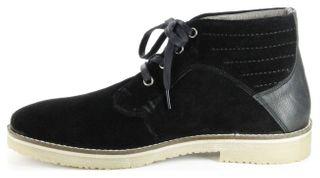 Marc Halbschuhe (Boots) schwarz Velourleder Herren Schuhe Connery 1-268-01-29 – Bild 7